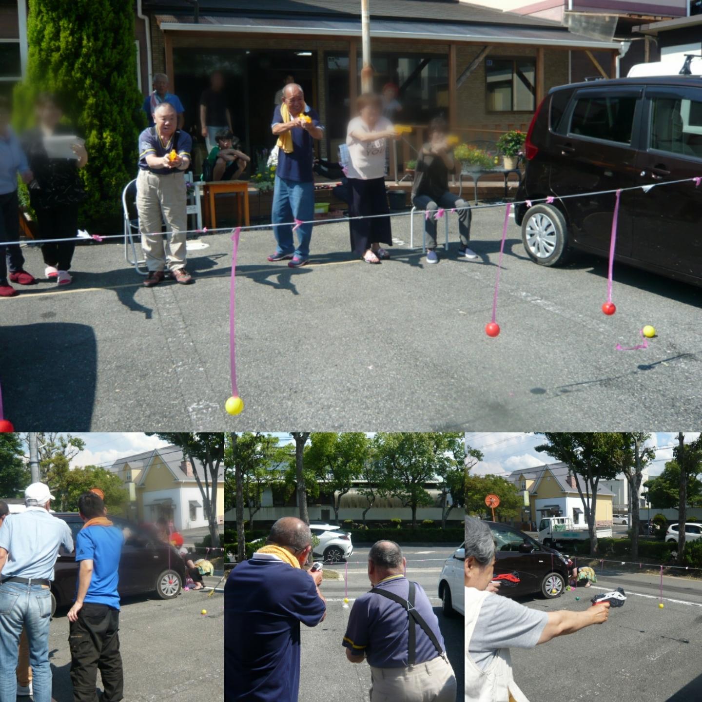 7月お誕生日会&水鉄砲ボール当てゲーム(テンダァハート・高辺台)